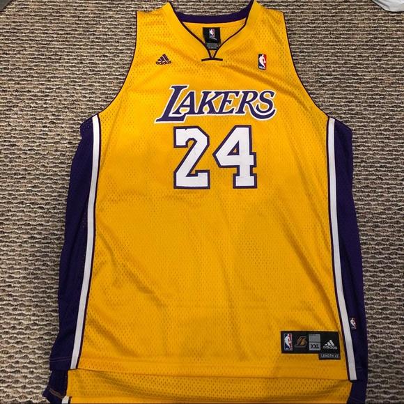 adidas Shirts | Kobe Bryant 24 2xl Jersey | Poshmark